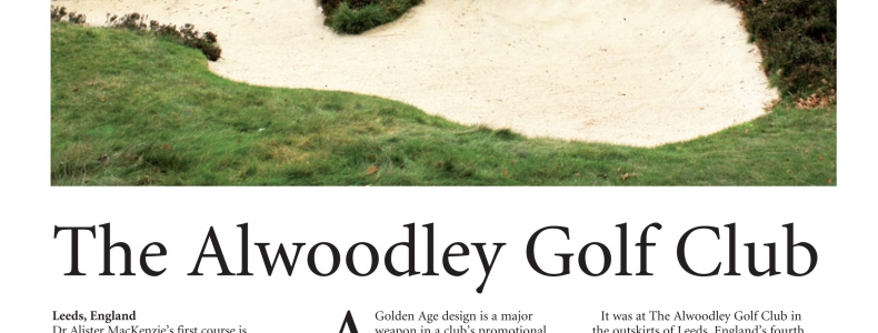 Golf Course Architecture Magazine – On Site at Alwoodley