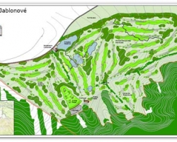 Golf Resort Jablonove - masterplan