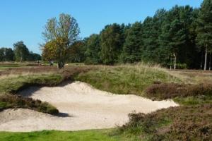 Hole 13 - approach bunker