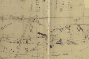 Alwoodley Golf Club - original Dr Alister MacKenzie layout plan